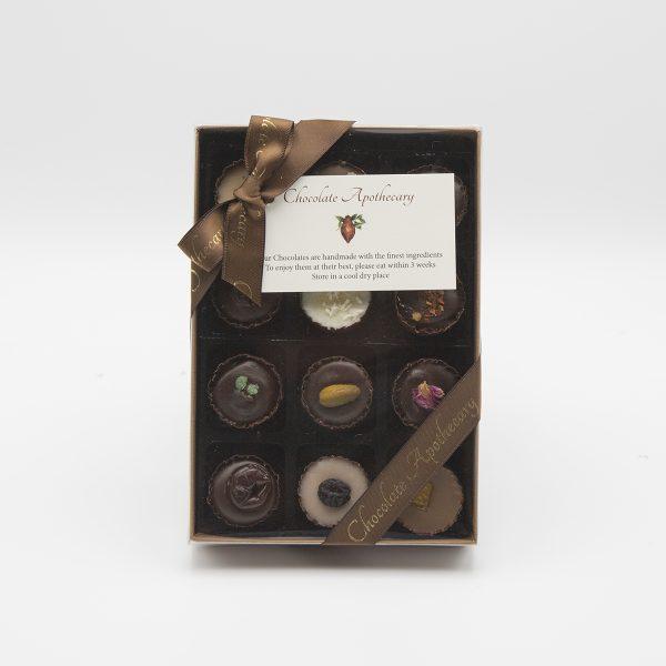 Handmade Box Of 12 Chocolates