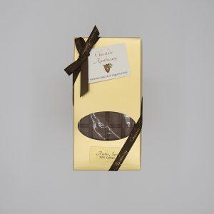 Handmade milk chocolate bar