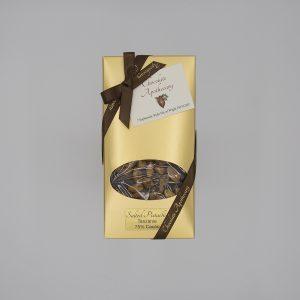 Handmade pistachio chocolate bar