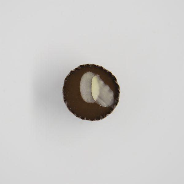 Handmade amaretto chocolate