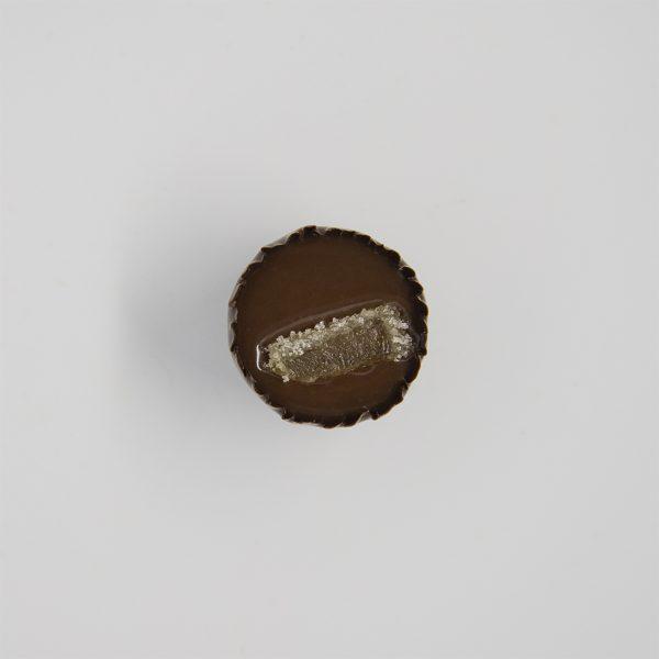 Handmade ginger chocolate