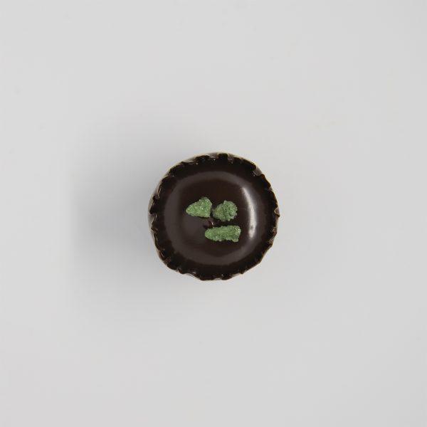 Handmade mint chocolate