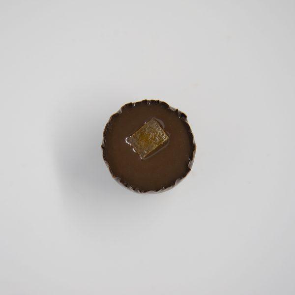 Handmade orange chocolate