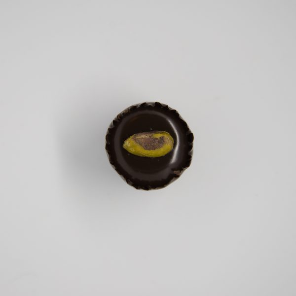 Handmade pistachio chocolate