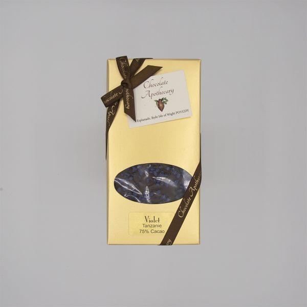Handmade Violet Chocolate Bar